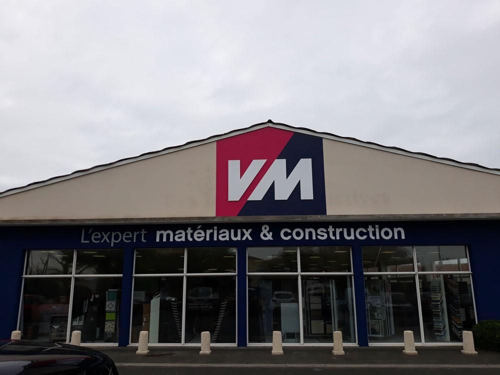 VM vous accueille à ST PIERRE D'OLERON, l'expert matériaux & construction dans le 17.