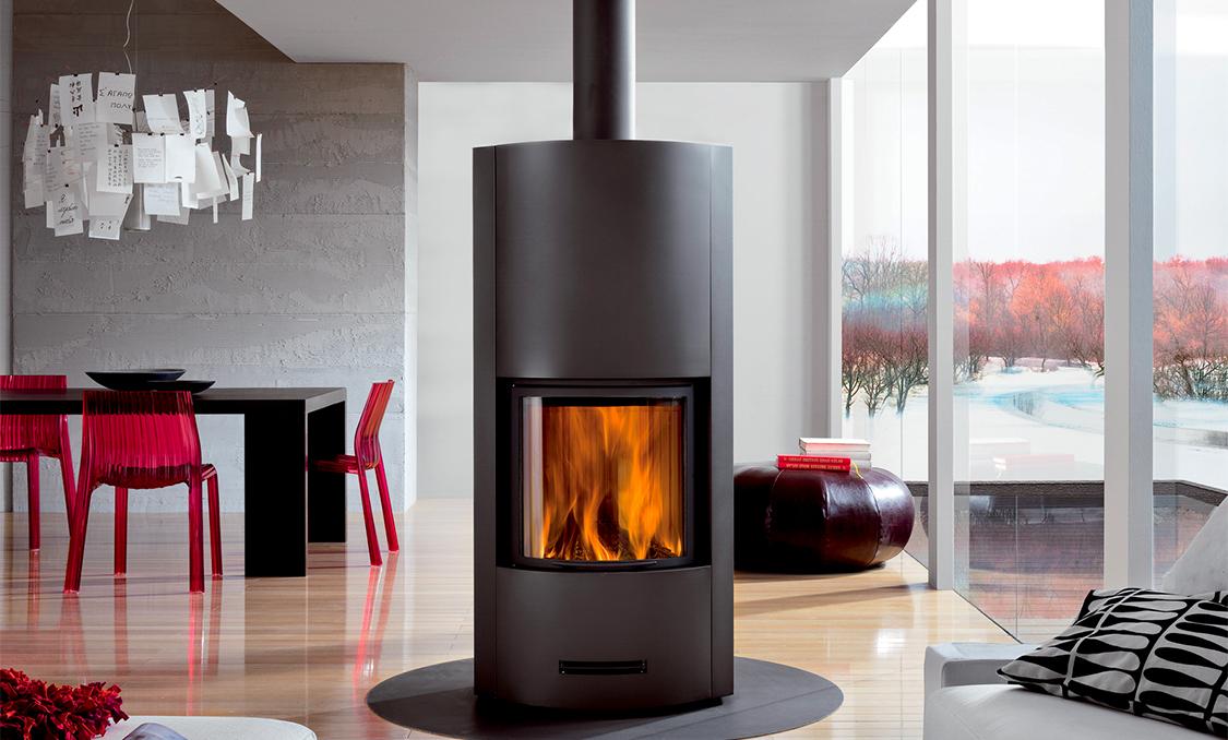 le po le bois un appareil de chauffage moderne. Black Bedroom Furniture Sets. Home Design Ideas