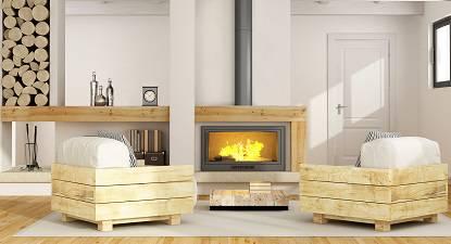 conduit de fum e concentrique pour po le granul s de bois. Black Bedroom Furniture Sets. Home Design Ideas