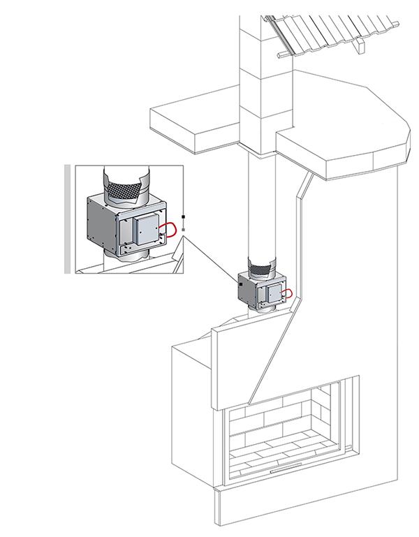 catalytique z ro co catalyseur pour appareil de chauffage au bois chemin es poujoulat. Black Bedroom Furniture Sets. Home Design Ideas