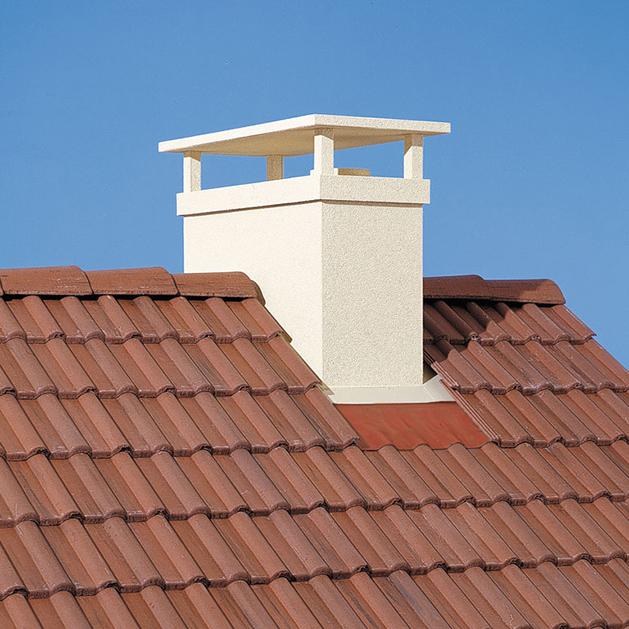 Sortie de toit r gionale normandie vend e pour maison for Sortie de cheminee poujoulat