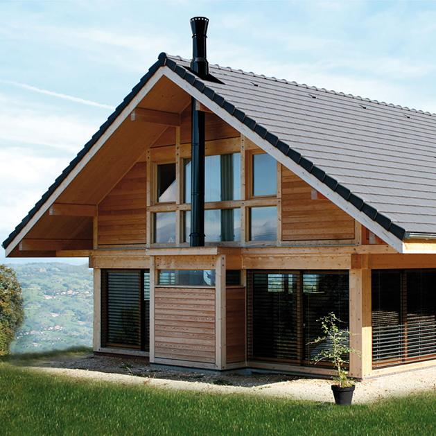 chapeau de chemin e et sortie de toit ronde en inox. Black Bedroom Furniture Sets. Home Design Ideas