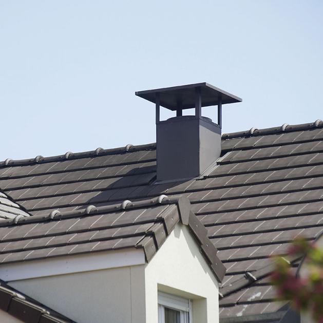 sortie de toit pour vacuation des fum es des syst me de ventilation chemin es poujoulat. Black Bedroom Furniture Sets. Home Design Ideas