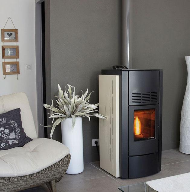 distribution d 39 air chaud pour po le granul s et vmc. Black Bedroom Furniture Sets. Home Design Ideas