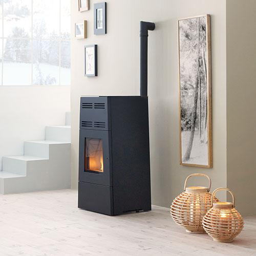 conduit de fumisterie maill e raccordement pour po le. Black Bedroom Furniture Sets. Home Design Ideas