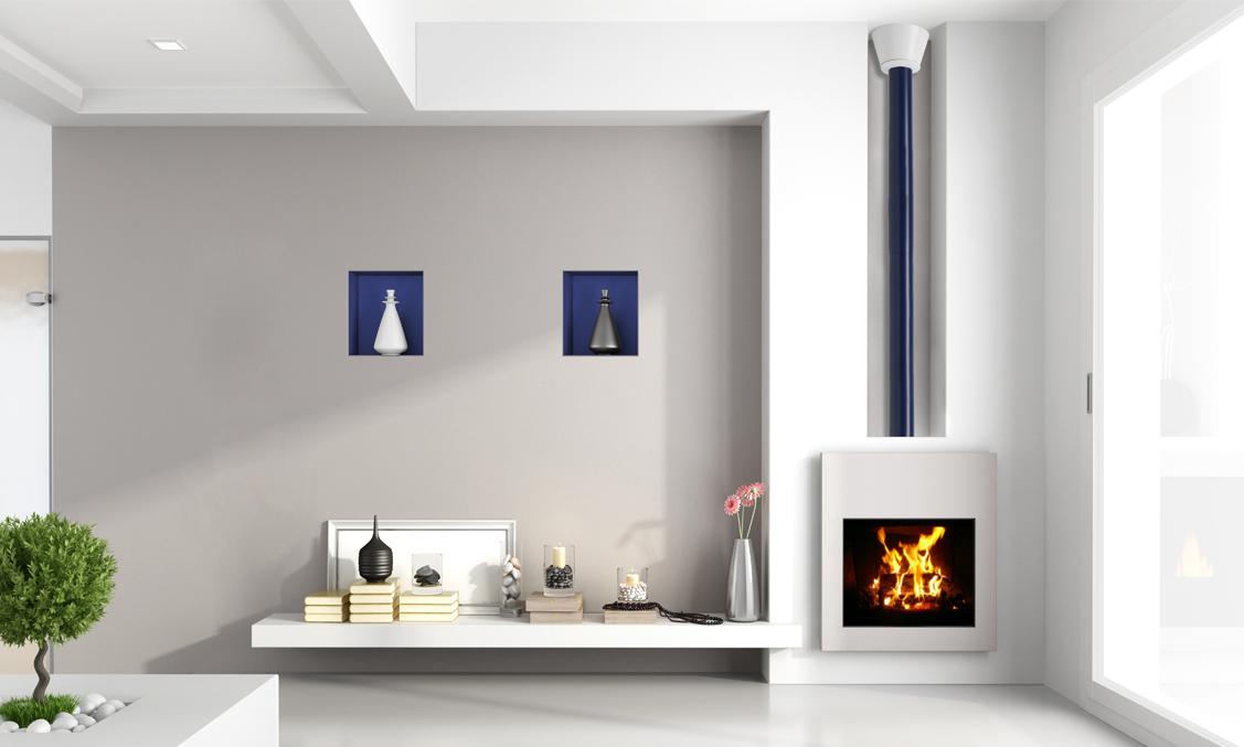 conduits de chemin e design. Black Bedroom Furniture Sets. Home Design Ideas