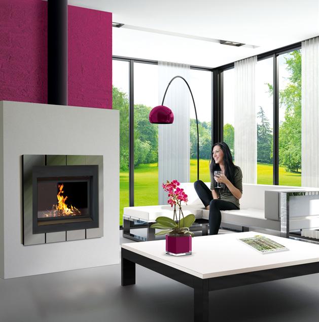 conduit de fum e triple paroi efficience pour po le bois chemin es poujoulat. Black Bedroom Furniture Sets. Home Design Ideas